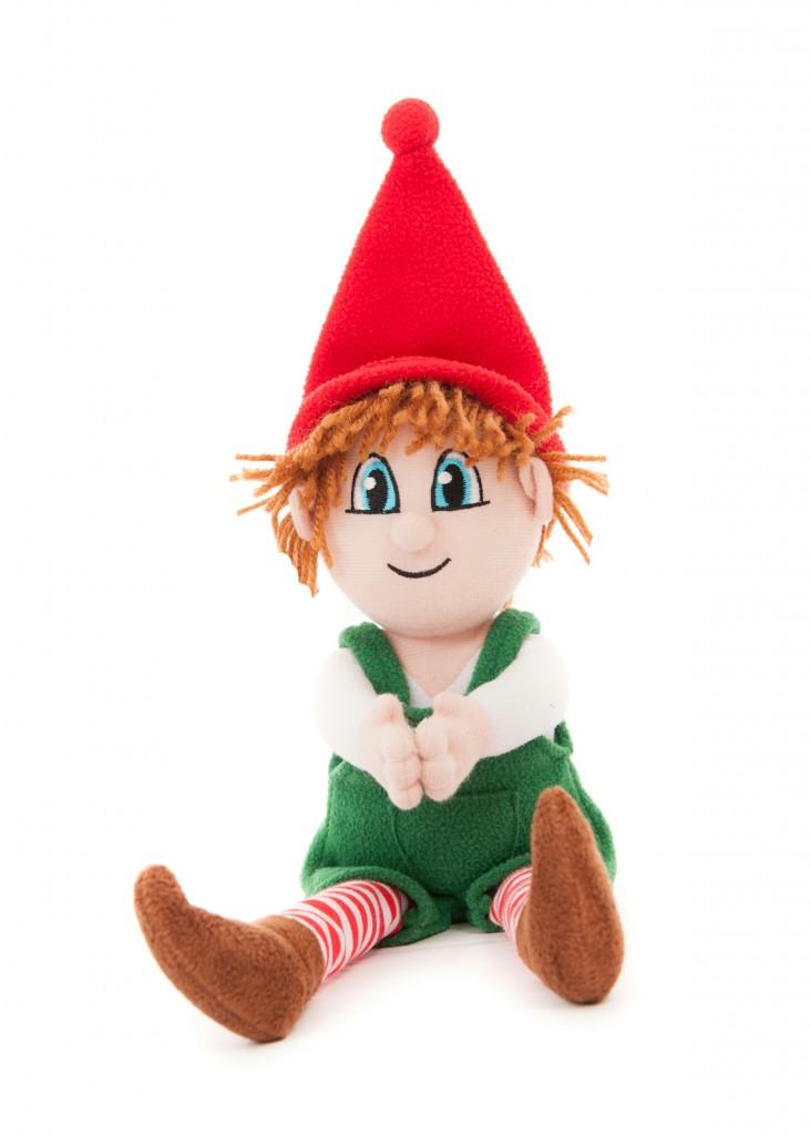 Christmas Elf – Boy Elf with Passport   Elfriends