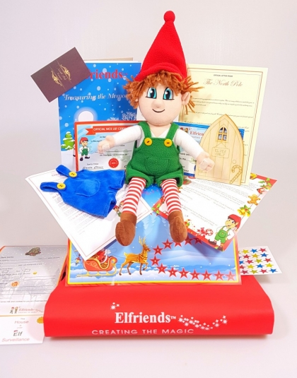 Christmas Elf Boy pack